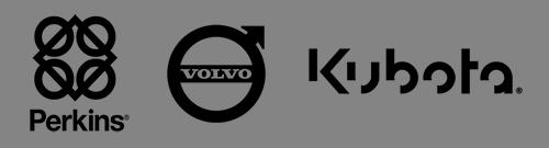 Perkins, Volvo, Kubota